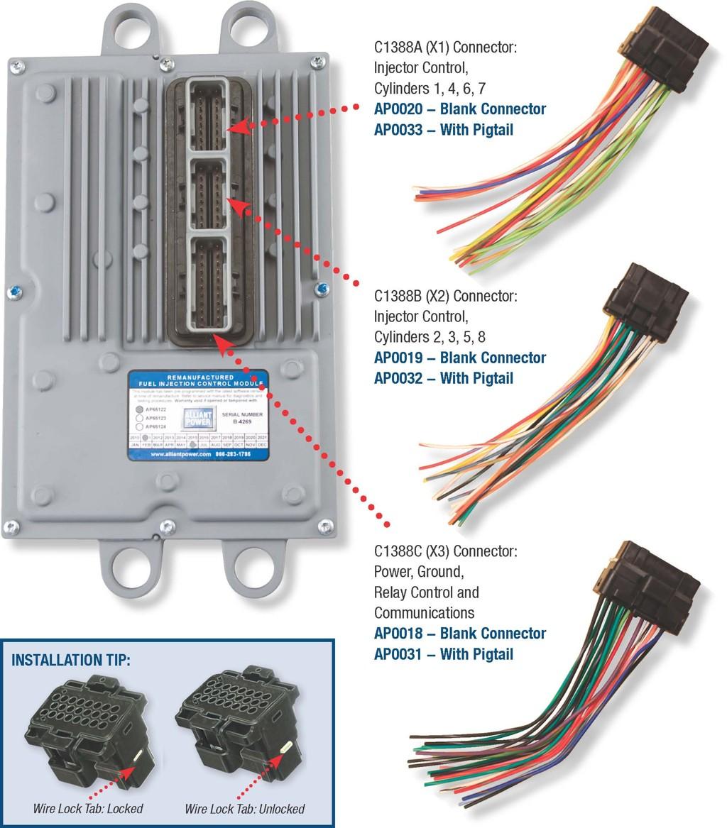 6 0 ficm connector